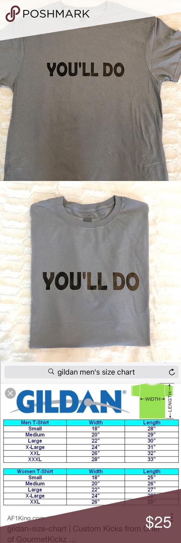 Gildan Shirts Sizes