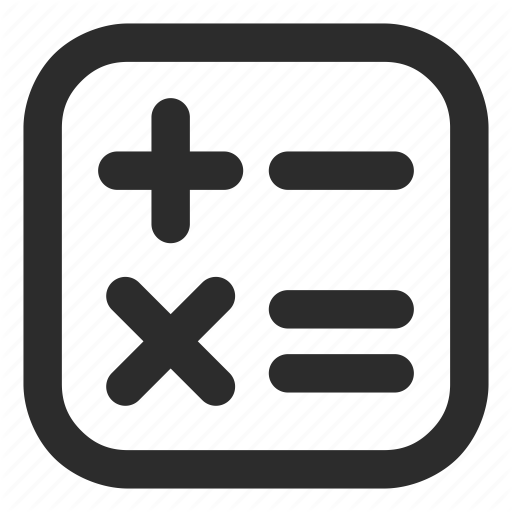 Accounting Calculator Finance Math Icon Download On Iconfinder Icon Math Accounting