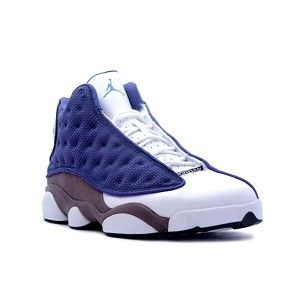 591566725e3db1 Cheap air jordans are for sale now! Air Jordan 13 XIII Retro Shoes - Navy  Flint Grey is only  53.12