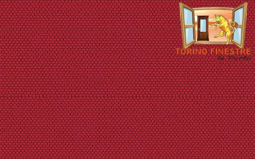Tende da sole Arquati Suncolor Poly 330 Dry 5631 Tessuti Tinta Rosso in Poliestere