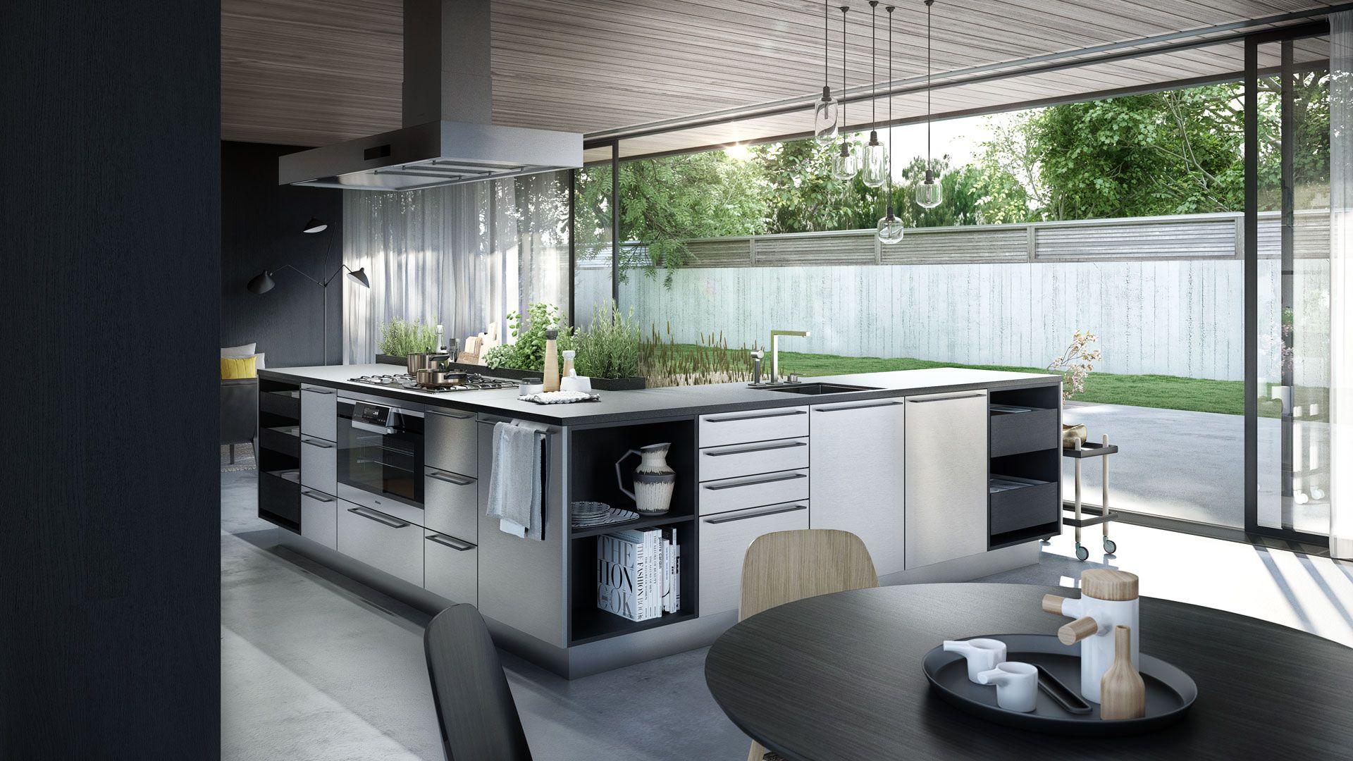 Siematickitchenurban05_2 1920×1080  Kitchens  Pinterest Custom Kitchen Design Innovations Decorating Design