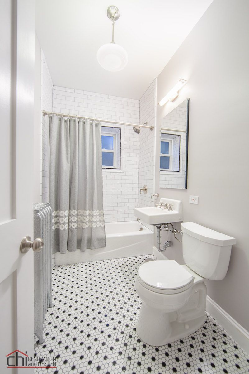 Vintage Bathrooms Renovation   Chi Renovation & Design. Pinned by ...