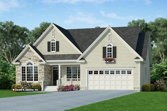 Country Style House Plan 4 Beds 3 Baths 1952 Sq Ft Plan 929 658 In 2020 Country Style House Plans Farmhouse Style House Plans Craftsman Style House Plans