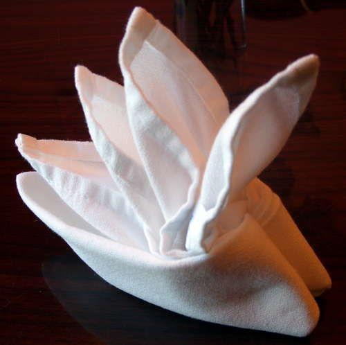 Folding Cloth Table Napkins Serviette Ideen Kleidung Falten