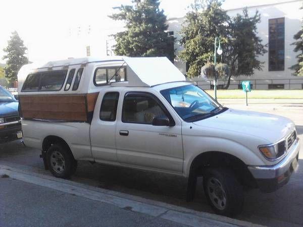 Better Gas Mileage Mod   Truck bed camper, Camper shells ...