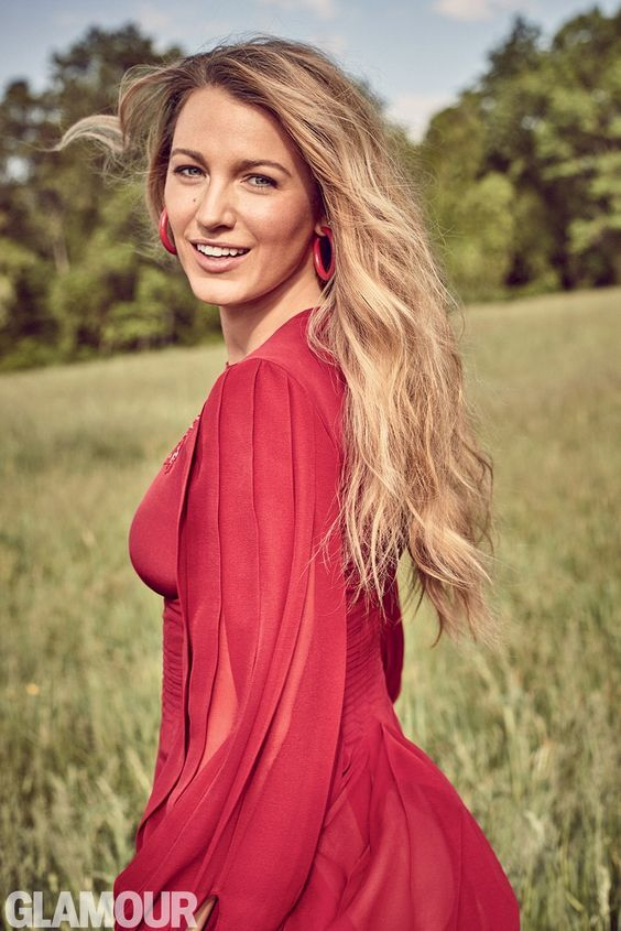 Reine des cheveux longs: Blake Lively #blakelively