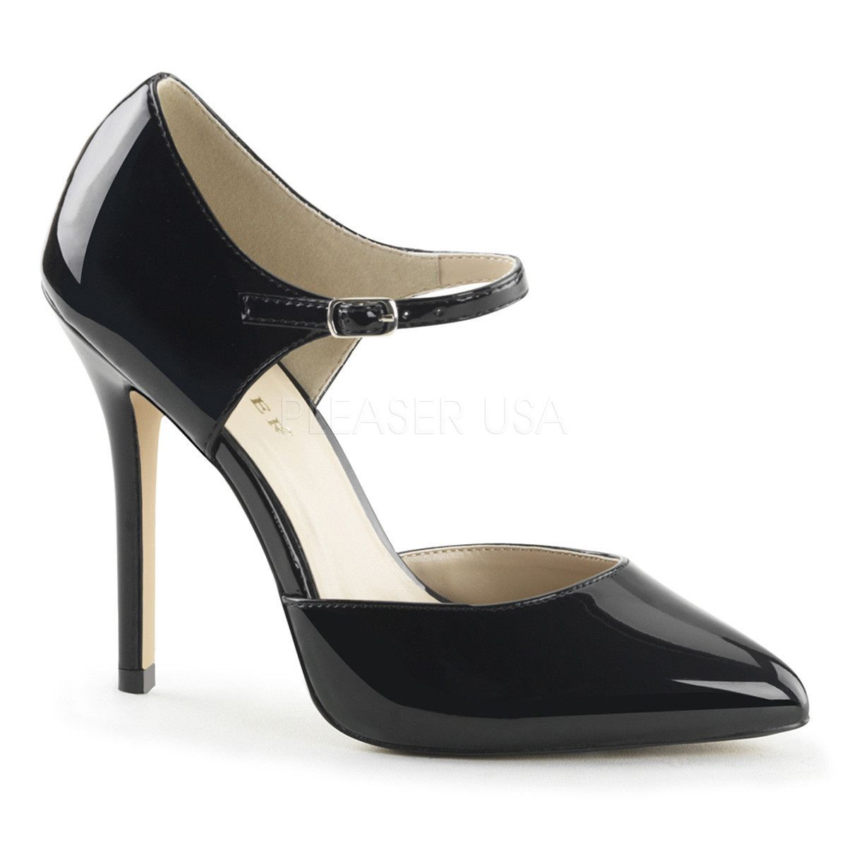 Zapatos negros Pleaser Amuse para mujer MDZidY