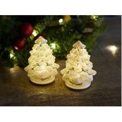 Christmas decoration -  Led Christmas tree, set of 2 Cilja Tree, designer Sirius, 8 cm SiriusSirius Best Picture For  manda - #butterflytattoo #Christmas #decoration #dragontattoo #geometrictattoo #tattoofrauen #tattoomujer