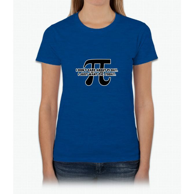 Pi Day Pie Day Womens T-Shirt