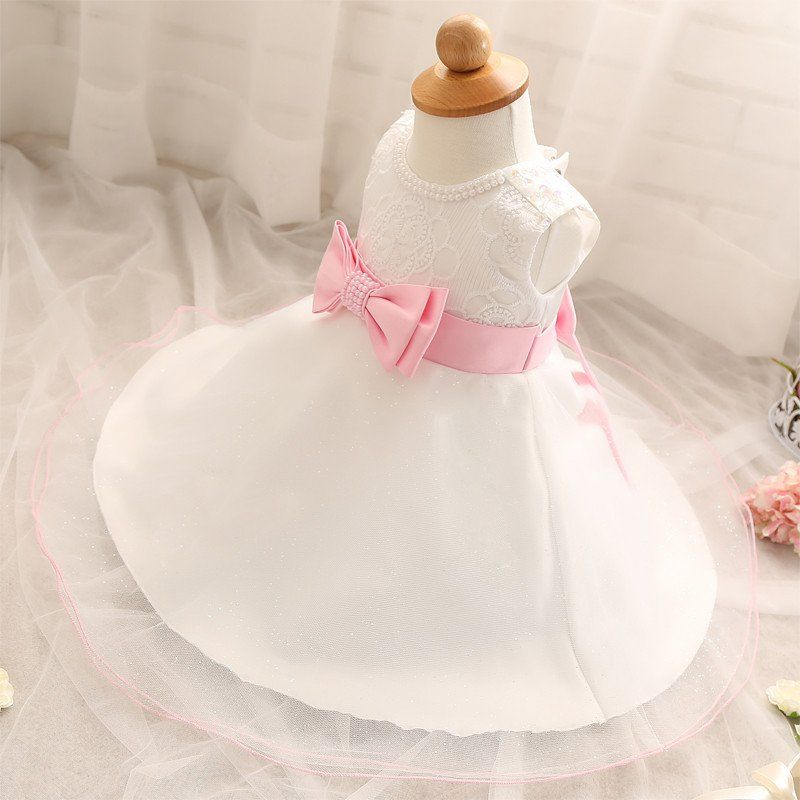 0b0961239 New Baby Girls Clothing Baptism Ball Gown Dress Infant 0-2 Year ...