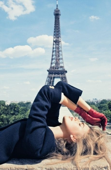 Happy Girls In Paris France  Cute, France, Girl, Paris -6688
