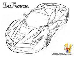 Resultado De Imagem Para Fotos De Ferrari Para Colorir Ferrari
