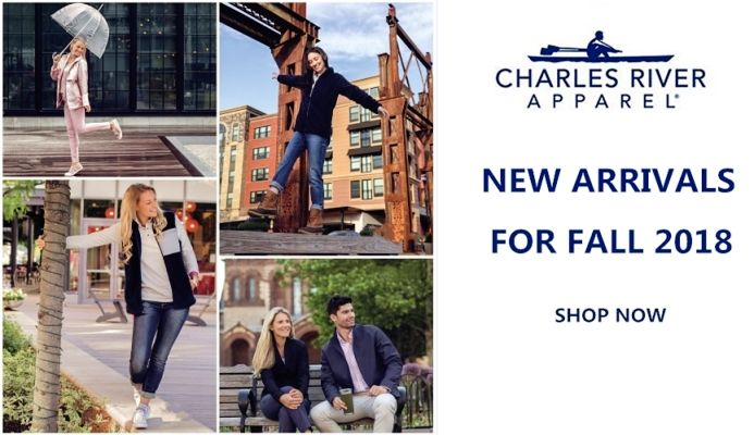Charles River Apparel New Arrivals 2018 for Fall from NYFifth