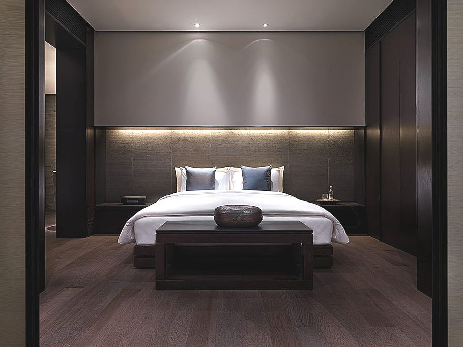 The luxurious puli hotel and spa shanghai hotel hotel for Modern hotel decor