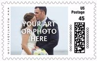 Make your invitations stand out with custom #wedding postage stamps from Evermine.com