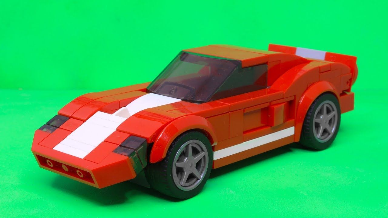 Lego Speed Champions Ford Gt 2005 Moc Ford Gt 2005 Lego Ford Gt Ford Gt