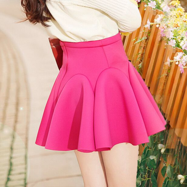 Fashion cute falbala pleated skirt Cute Kawaii Harajuku Fashion - clothing sponsorship