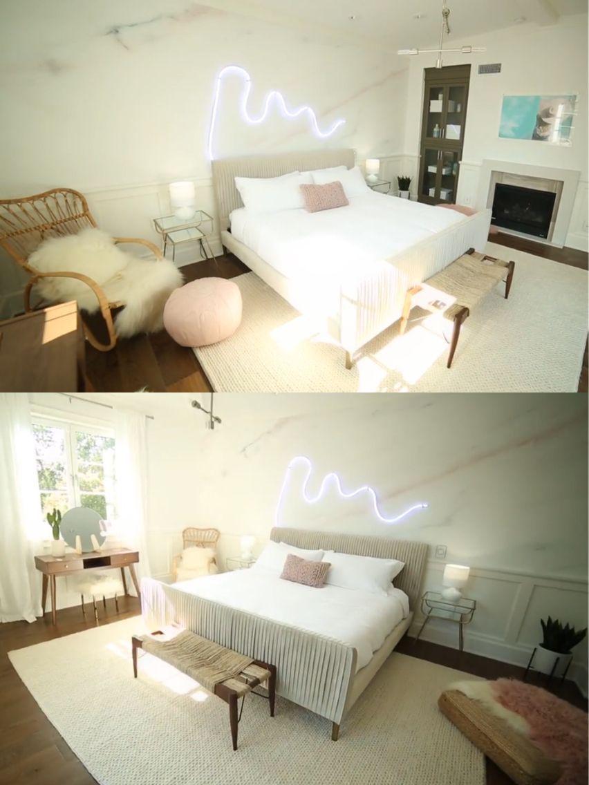 Alisha Marie Bedroom Makeover By Mr Kate Bedroom Inspo