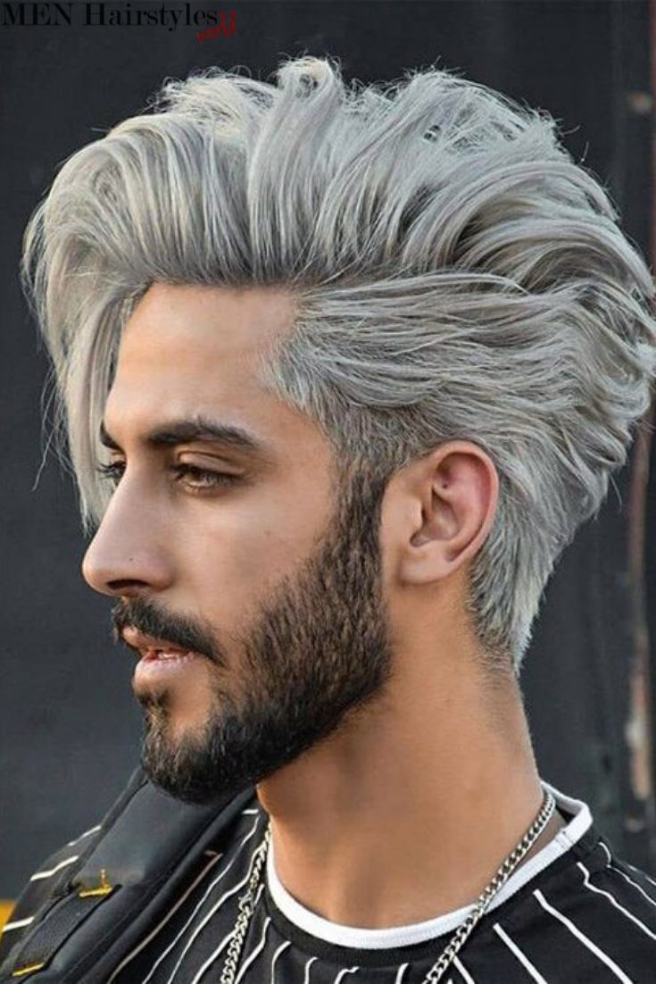 60 Amazing Hair Color Ideas For Men Long Hair Styles Men Cool Hairstyles Men Hair Color