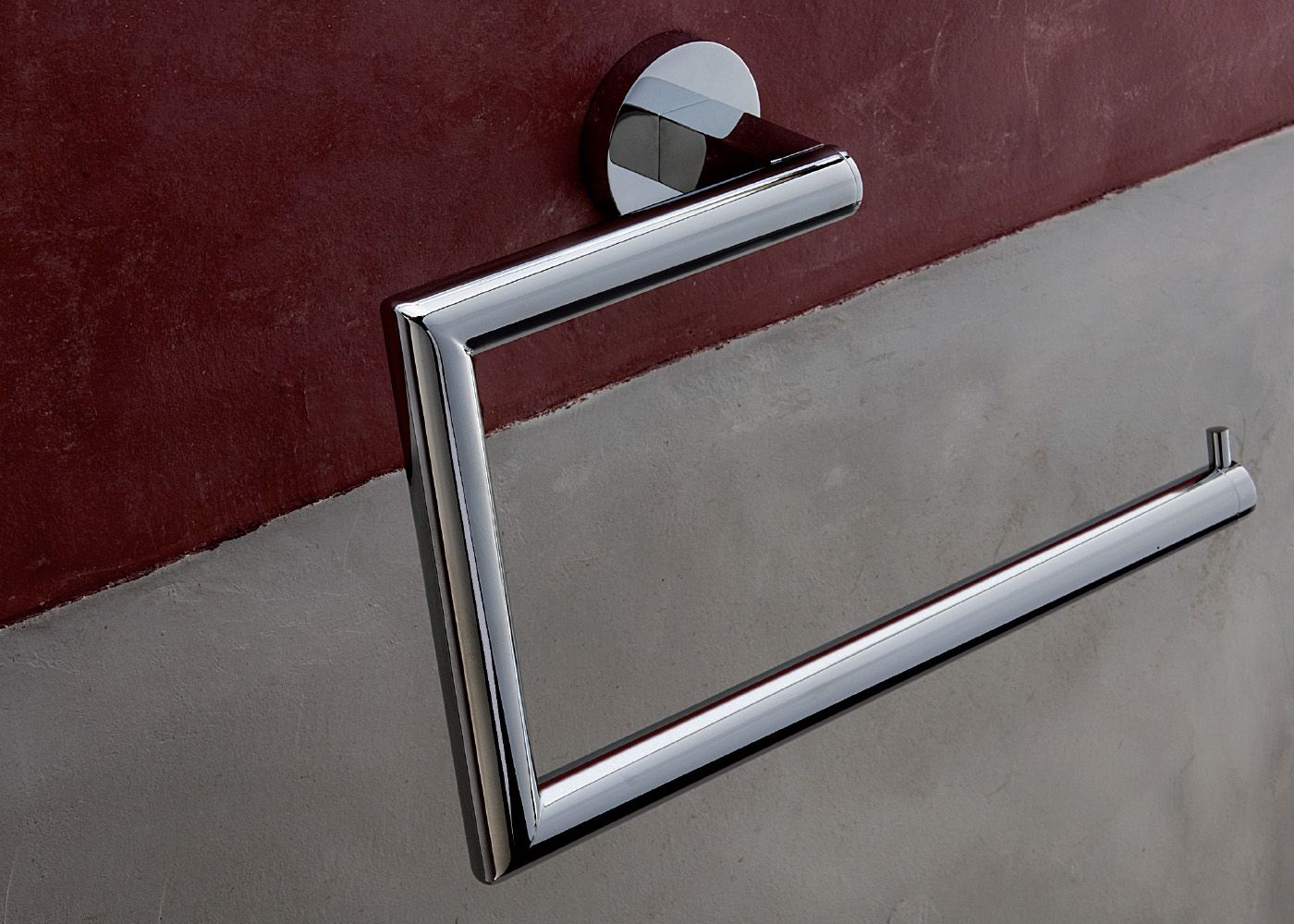 Towel Ring By Scandal Collection Violekdesign Chrome Plating