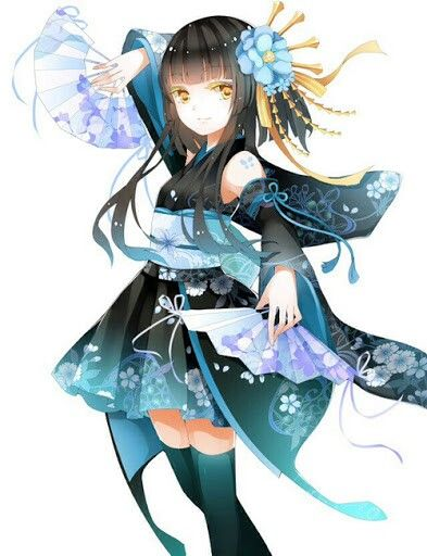ADOPTED Hinata is 15. She's a Japanese fan dancer with lots of talent. She loves to dance for formal parties and gatherings.
