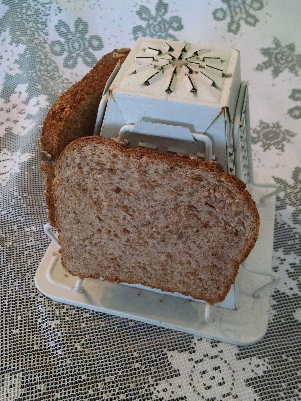 Vintage Camping Toaster Bread Toaster Vintage Toaster Stovetop  # Cuisine Vintage Bois Metal