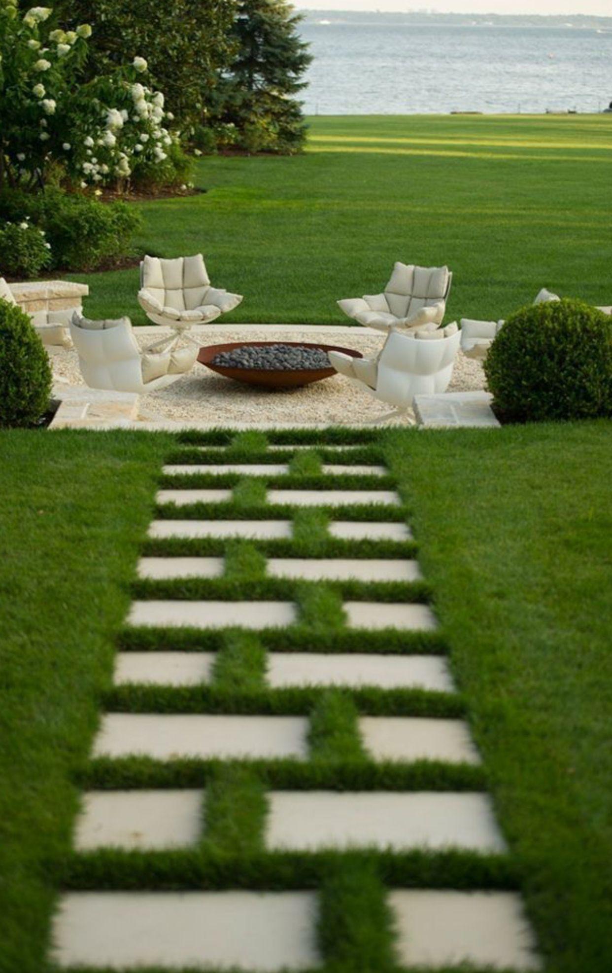 Gorgeous Setting Patio Garden Garden Design Backyard Garden