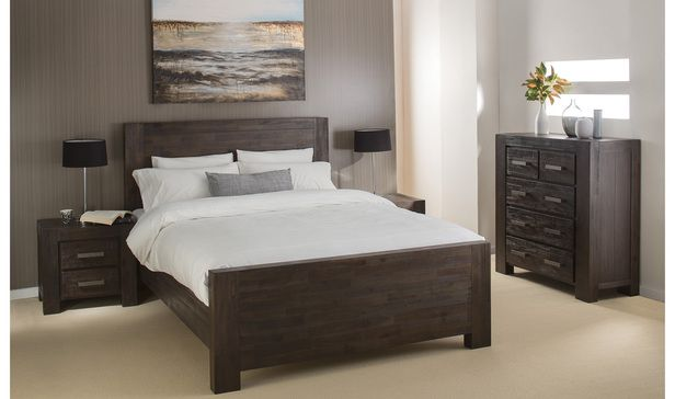 Fantastic Furniture Kingston Queen Bedroom Package with Tallboy