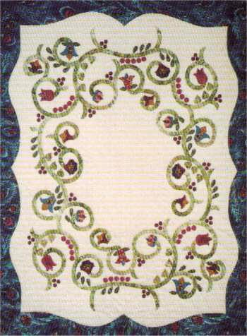 applique quilts | Laura's Sage Country Quilt patterns | Beautiful ... : applique quilts patterns - Adamdwight.com