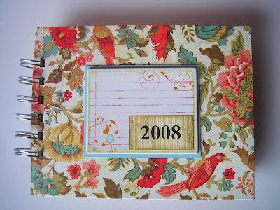 Another Bind it all project - how to make a calendar with tags