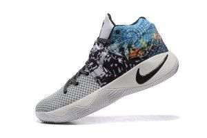 buy online 2a8ae 39f38 Mens Nike Kyrie 2 Effect Multi-Color Black-Sail 819583-901 Basketball Shoes