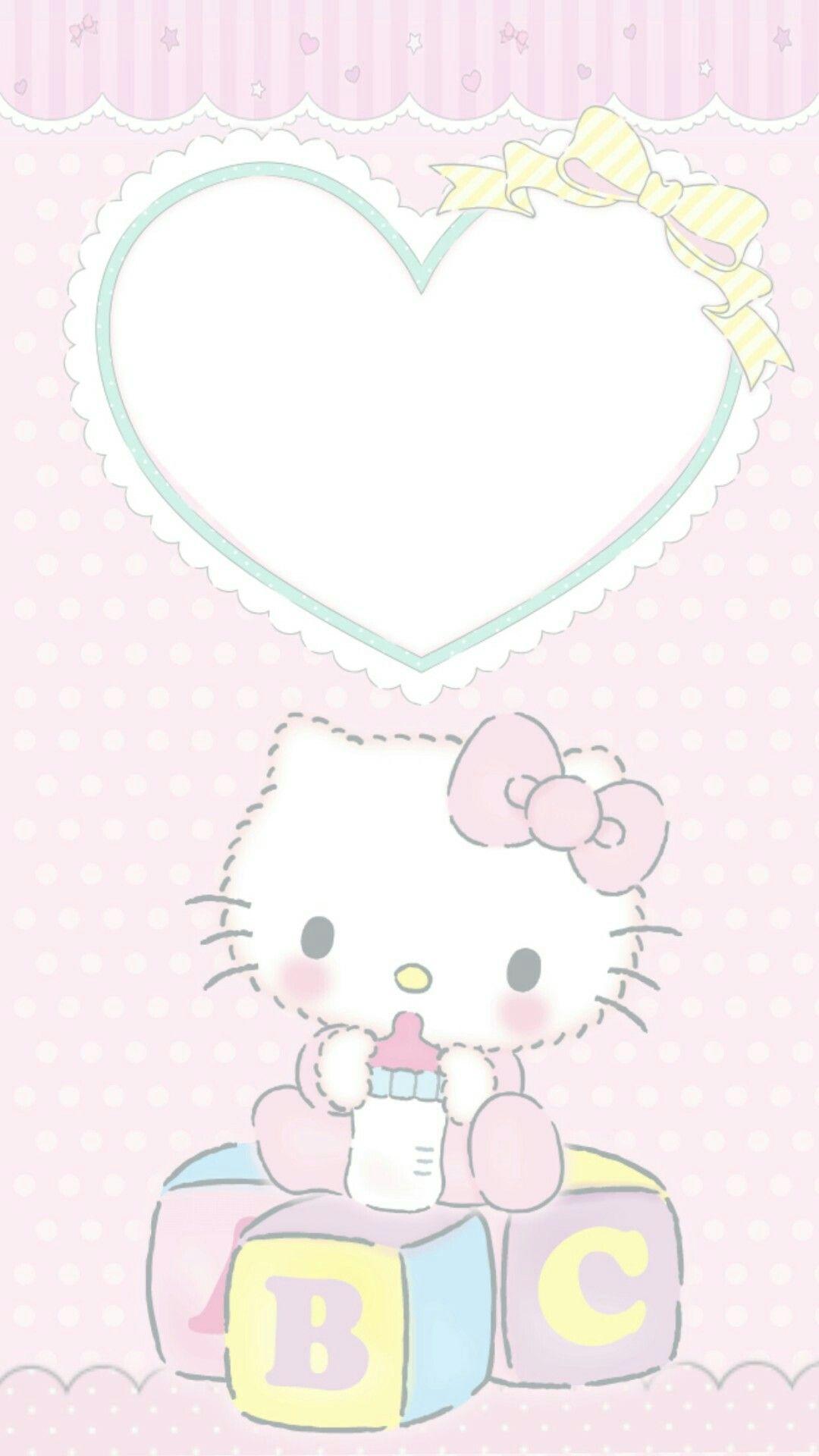 Hello Kitty Dengan Gambar