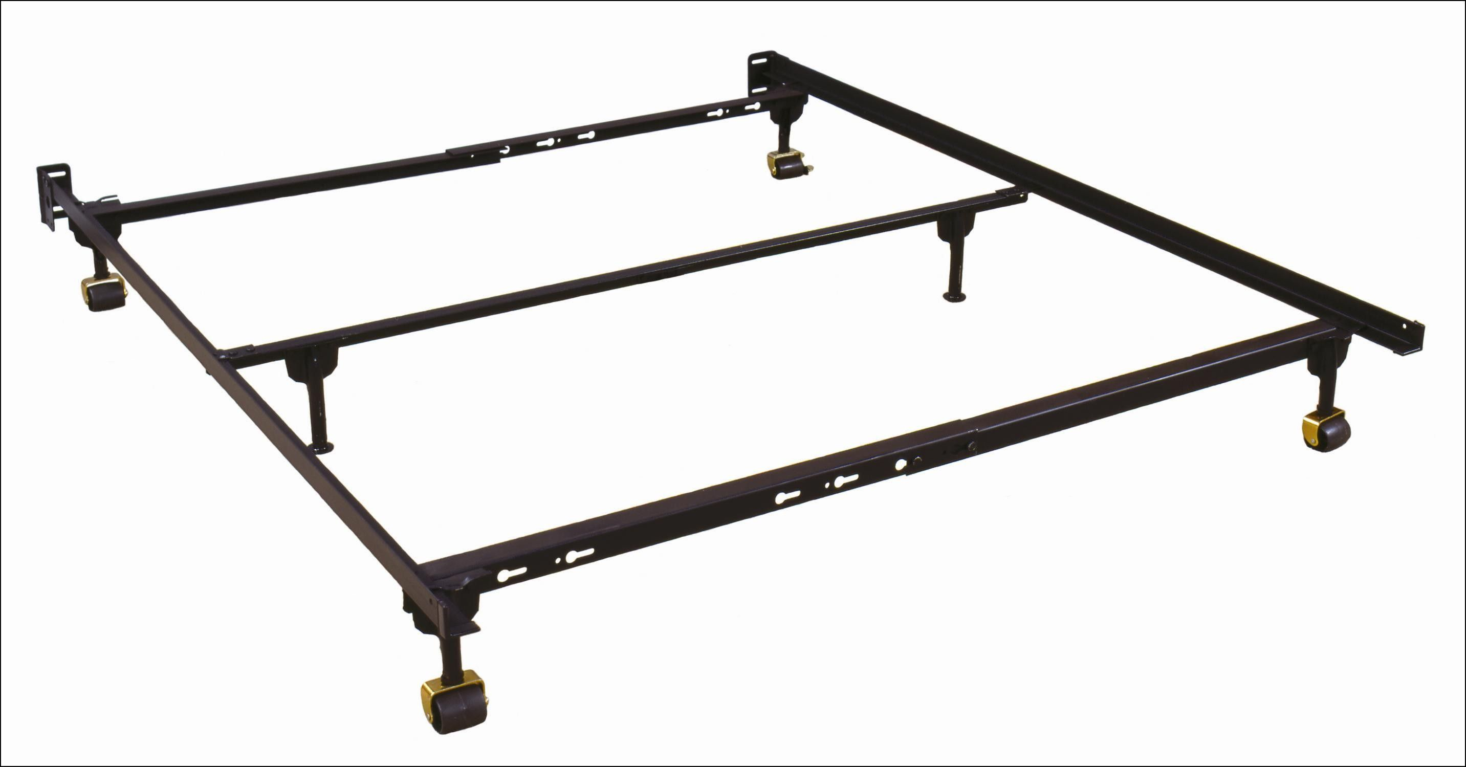 Queen Metal Bed Frame with Wheels | Wheels - Tires Gallery ...