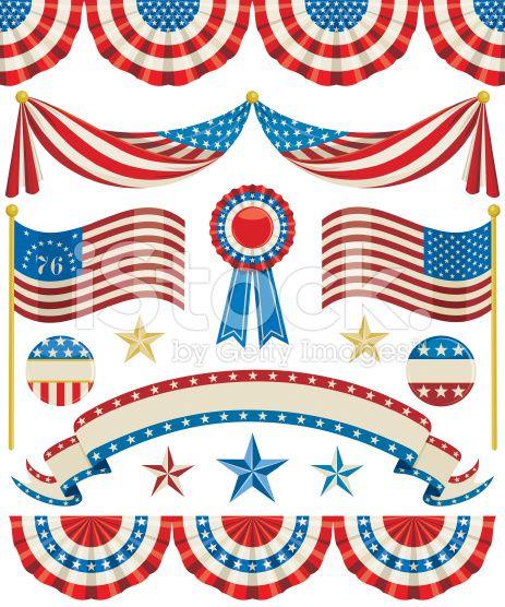 99db92ae8ec vintage patriotic bunting - Google Search
