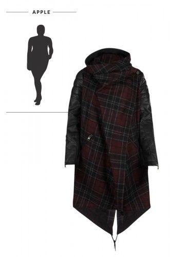 10+ Best Coats for apple shape images