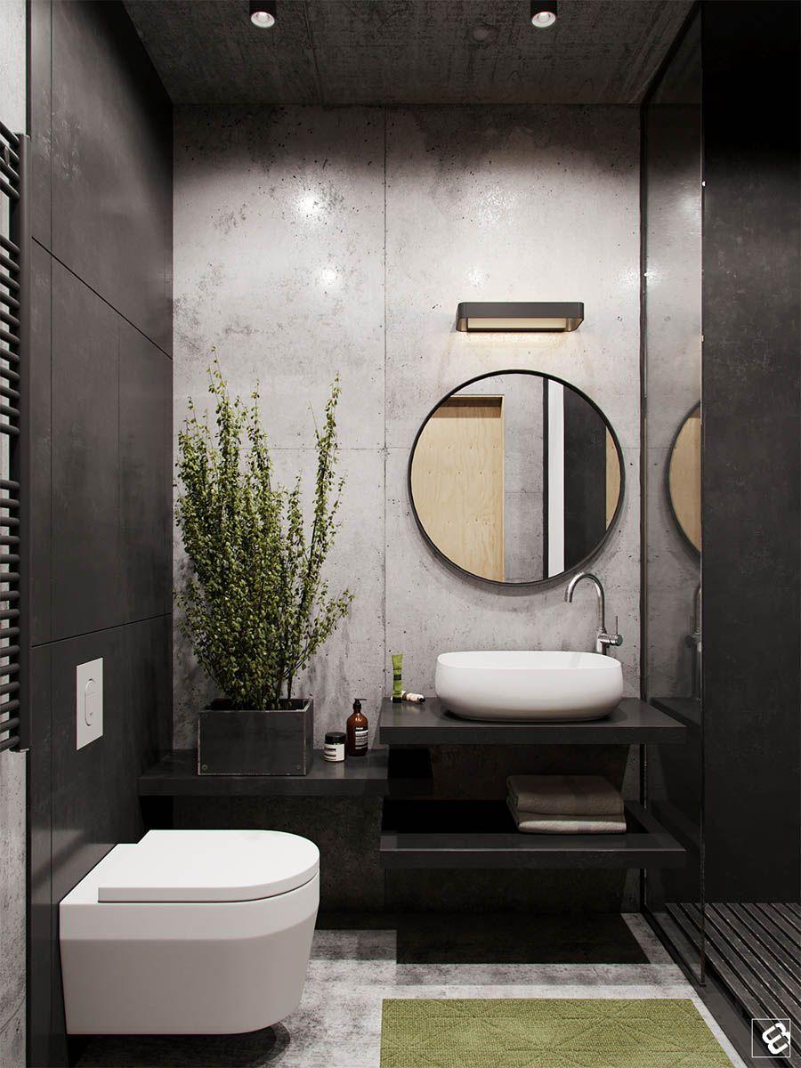 A Concrete and Wood Townhouse in Belarus | Bathroom interior ... on bathroom design software, bathroom design grid, kitchen visualizer, bathroom tile visualizer,