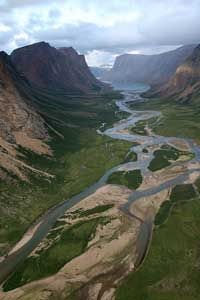 The Torngat Mountains. Labrador, Canada