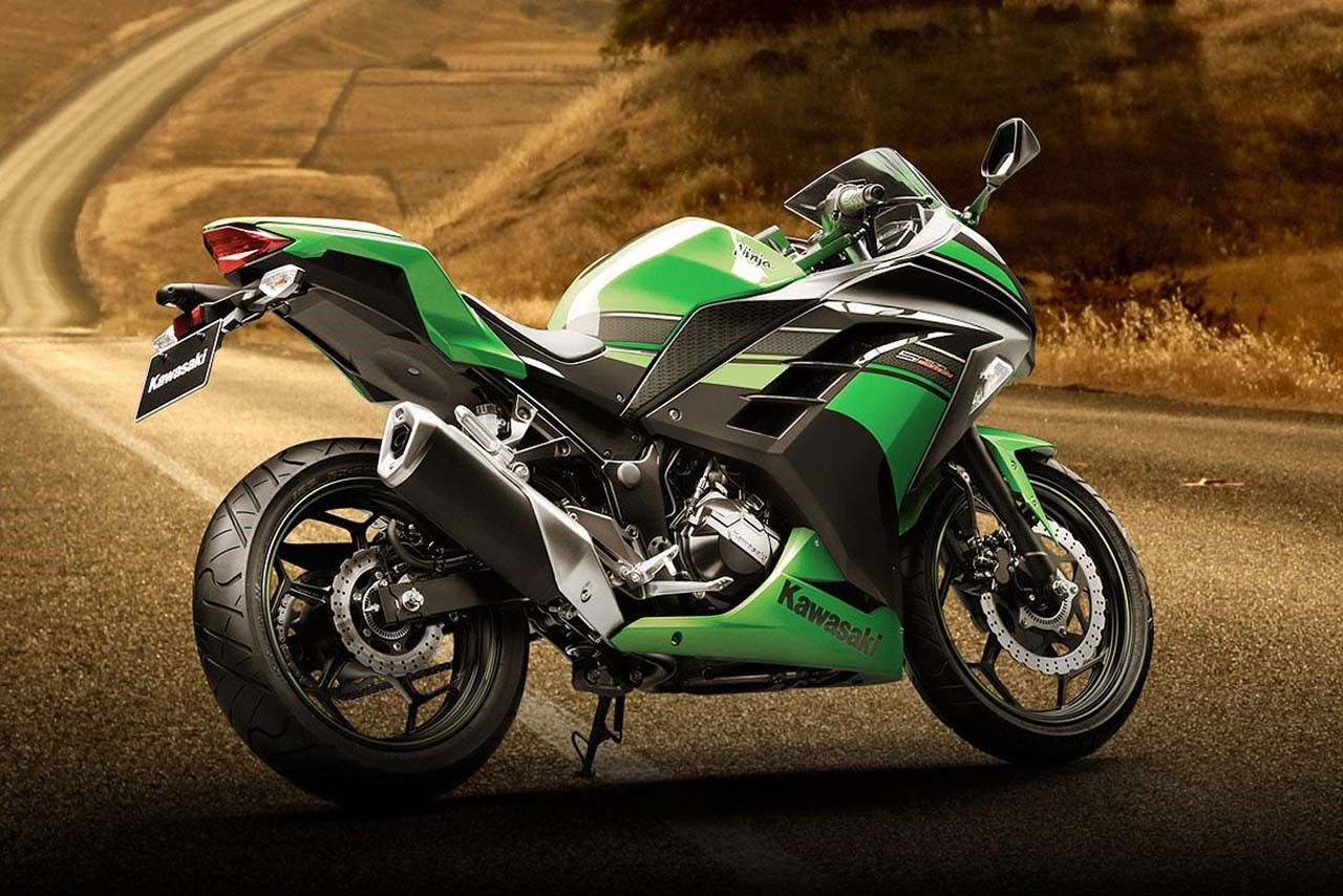 Kawasaki Ninja 300 Abs Special Edition Hd Wallpaper Photo