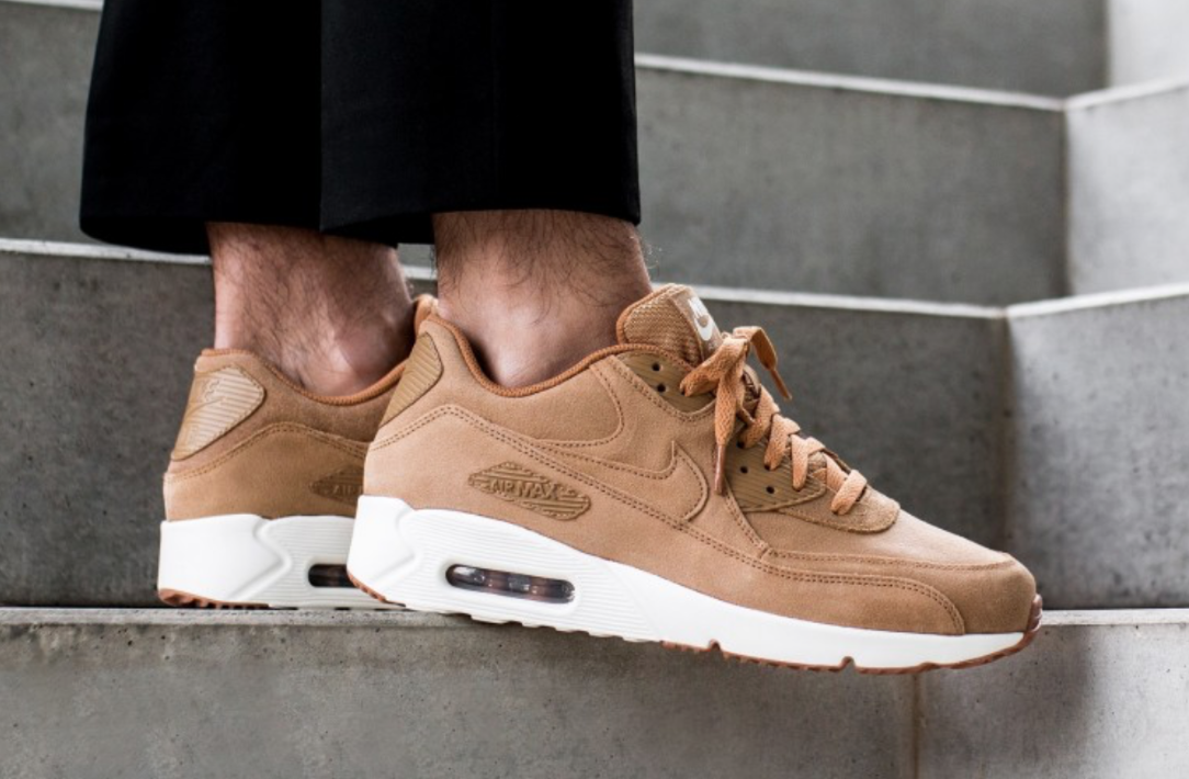 best sneakers 7bbd2 f11b5 Nike Air Max 90 Ultra 2.0 Flax Dropping This Weekend