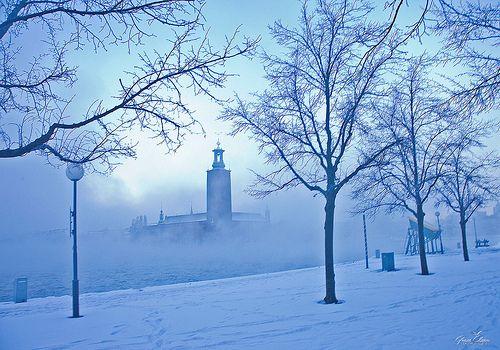 Morning has broken in Stockholm