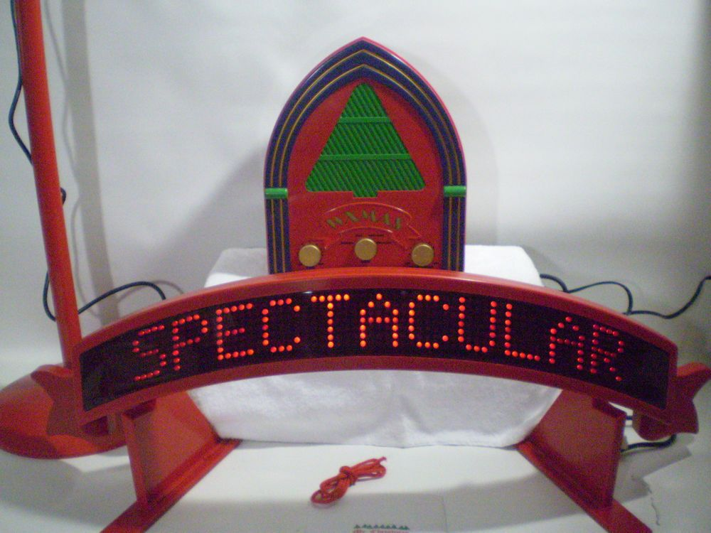 Mr Christmas Lighted Sing Along Santa Karaoke Machine 50 Carols 1993 Family Fun #MrChristmas ...