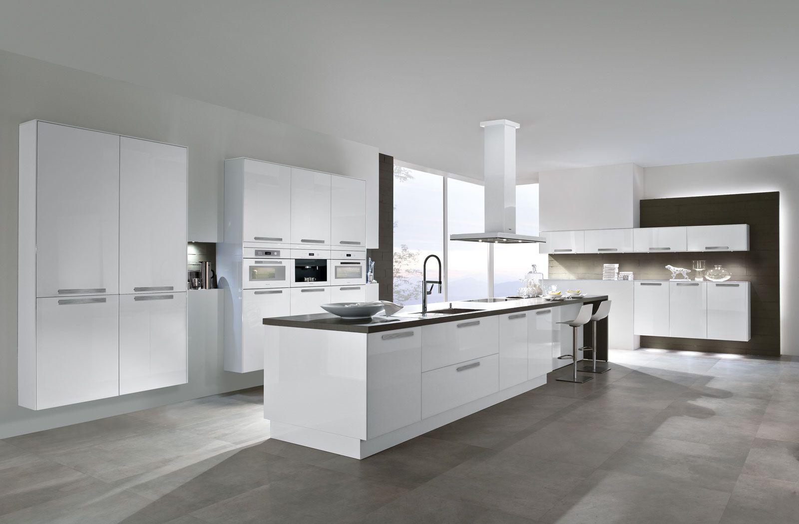 5090 | Design glass brilliant white - Häcker Küchen - Häcker Küchen ...