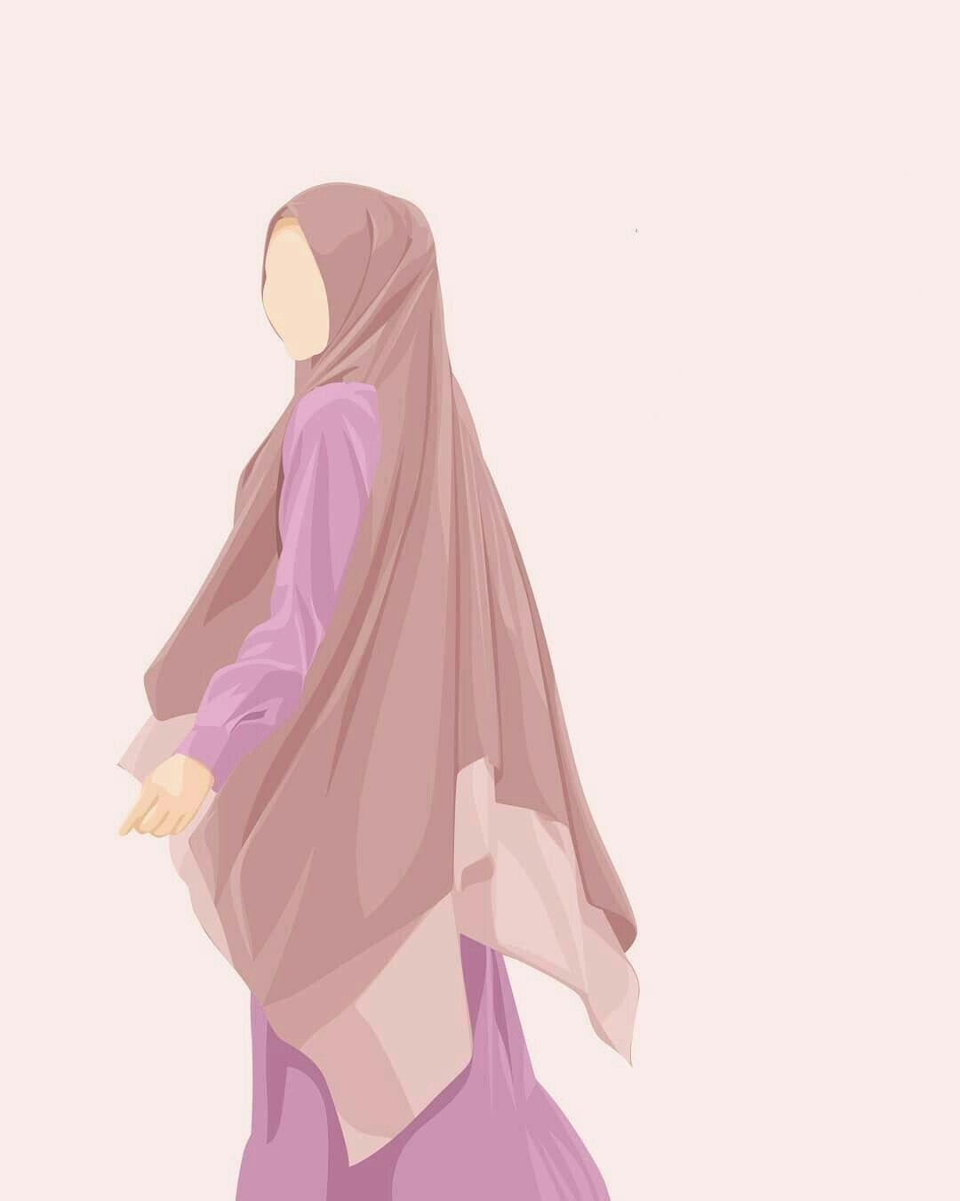 Sukut U Lisan Selameti Insan Inspirasi Fashion Hijab Kartun Hijab Gambar