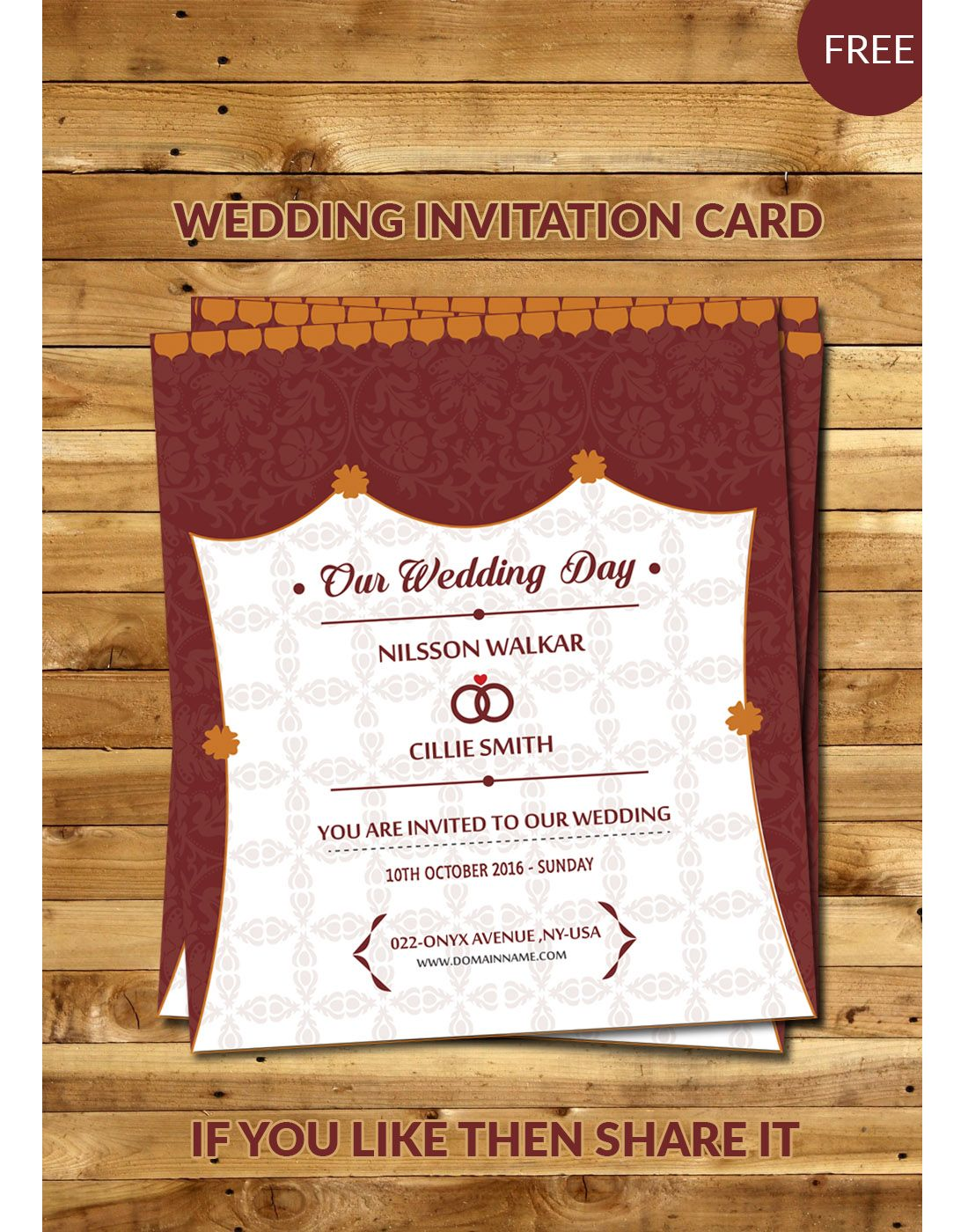 wedding invitation card templates | Kankotri Vector Template ...