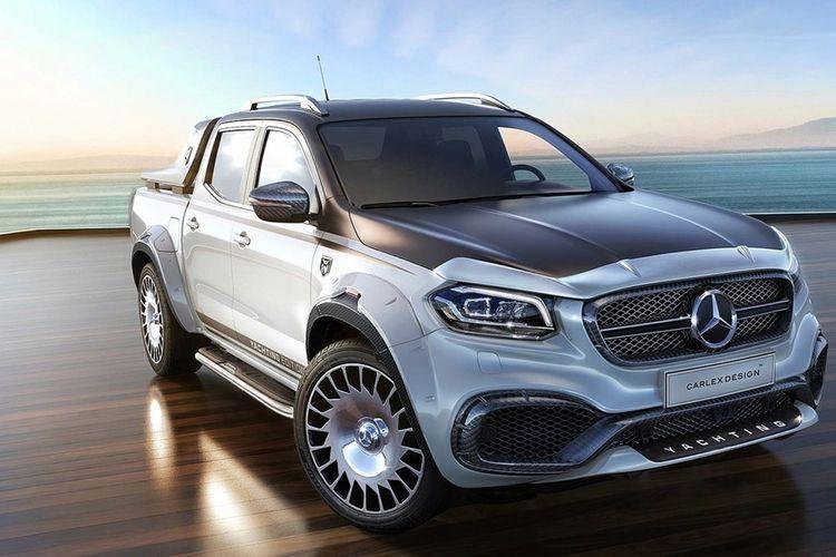 Mercedes Benz X Klasse W470 Tuning In 2020 Pick Up Mercedes Benz Mercedes