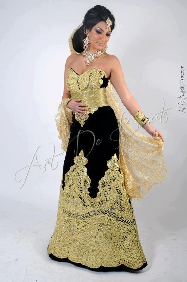Robe soiree mariage algerien