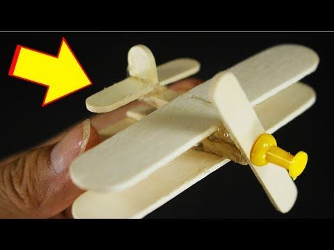Make A Airplane With Popsicle Sticks Clothespin Diy Crafts Creative With Ice Cream Stick Diy Popsicle Stick Crafts Diy Projects With Popsicle Sticks Clothespin Diy Crafts