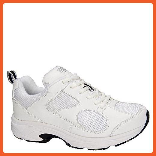 00f21f1507af0 Drew Shoe Women's Flash II Sneakers,White,5.5 XW - Sneakers for ...