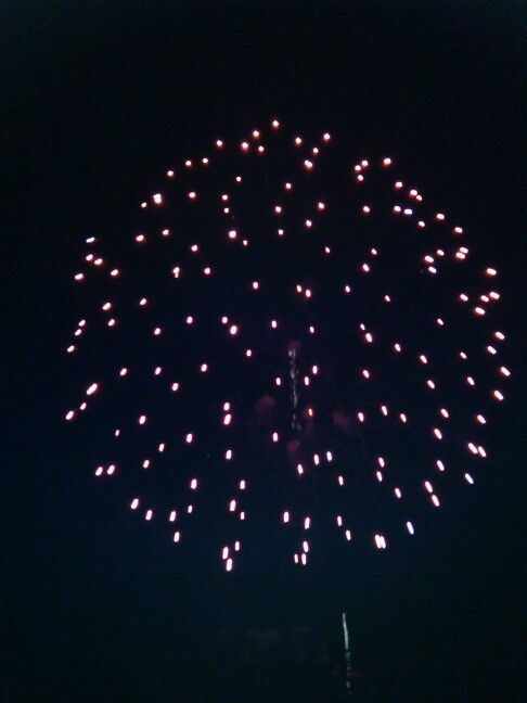 Kempton fair firework 2