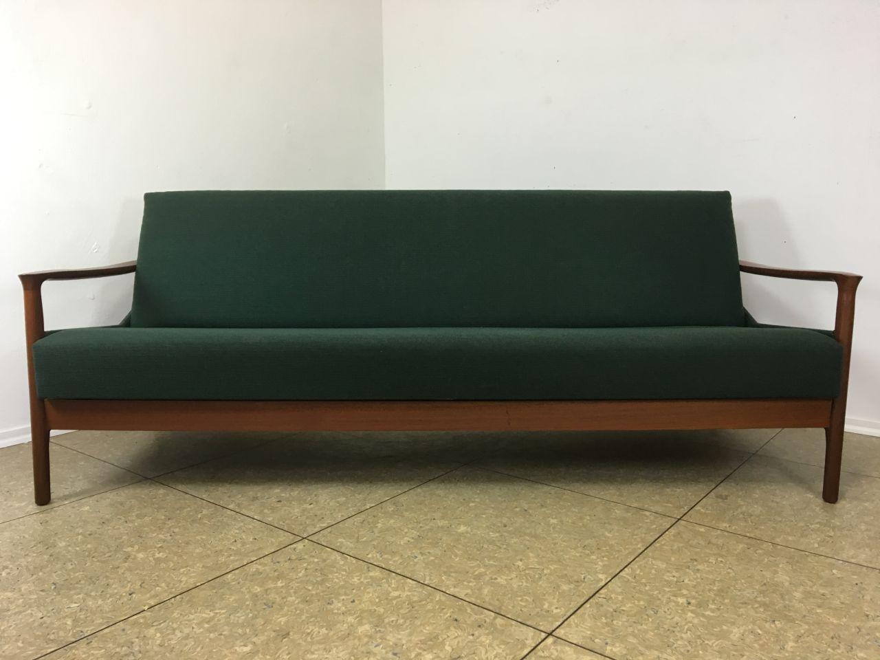60er 70er Jahre Teak Sofa Daybed Schlafsofa Danish Design Denmark